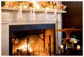 Fireside Elopements at our West Virginia Inn