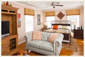 Romantic Getaways in West Virginia - Sunrise Suite
