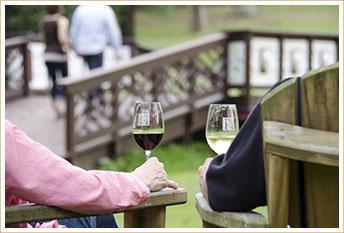 Wine Tasting in West Virginia for a Honeymoon