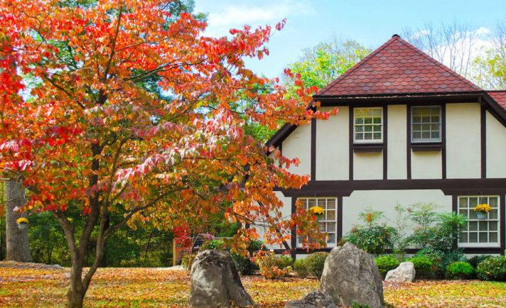 Fall Colors at Hillbrook Inn, a West Virginia Inn
