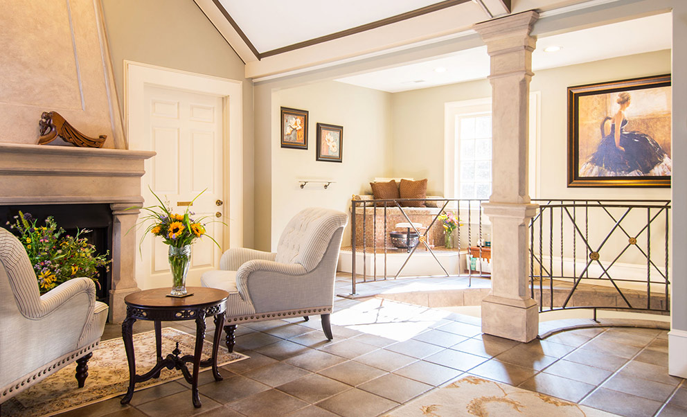 The Gatehouse Spa at our West Virginia Bed and Breakfast