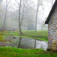 West Virginia B&B pond