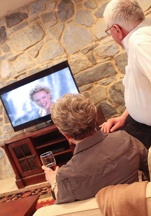 Common room TV