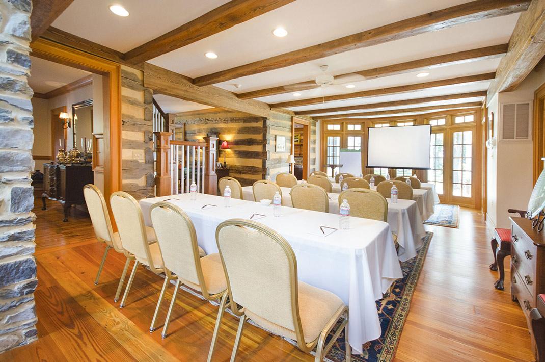 West Virginia retreats and meetings room