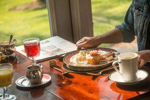 Breakfast on the Sun Porch