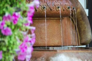 Front Terrace Fountain