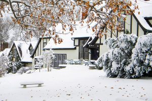 Hillbrook Inn in Winter