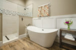Relaxing soaking tub at our Charles Town bed and breakfast