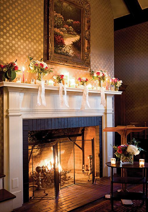 Fireplace elopement in West Virginia
