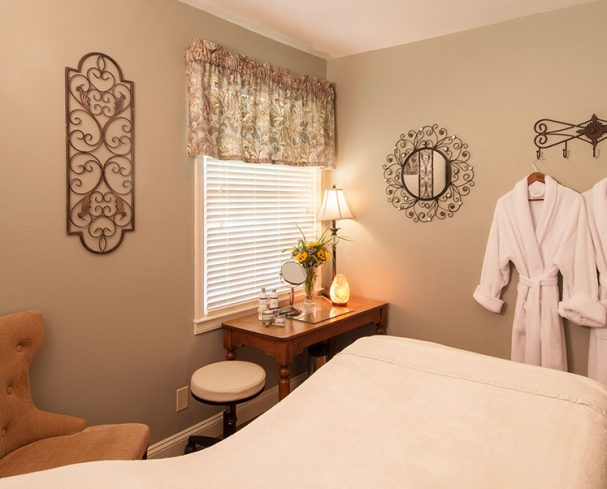 Massage room at our West Virginia Spa Resort