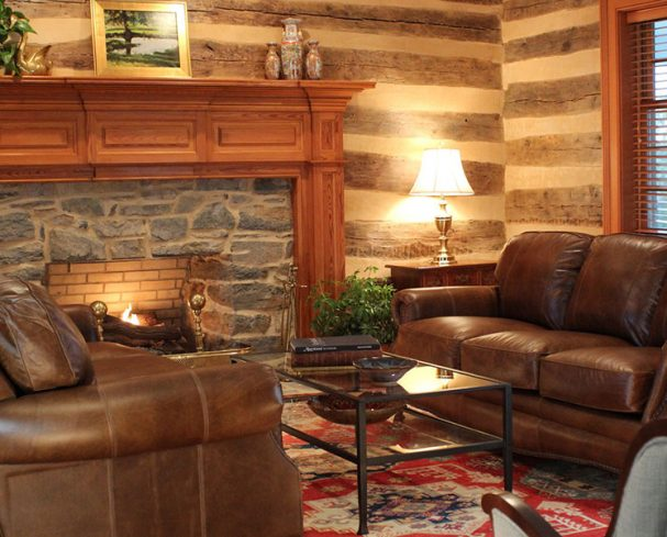Common area at our West Virginia Corporate Retreat Center