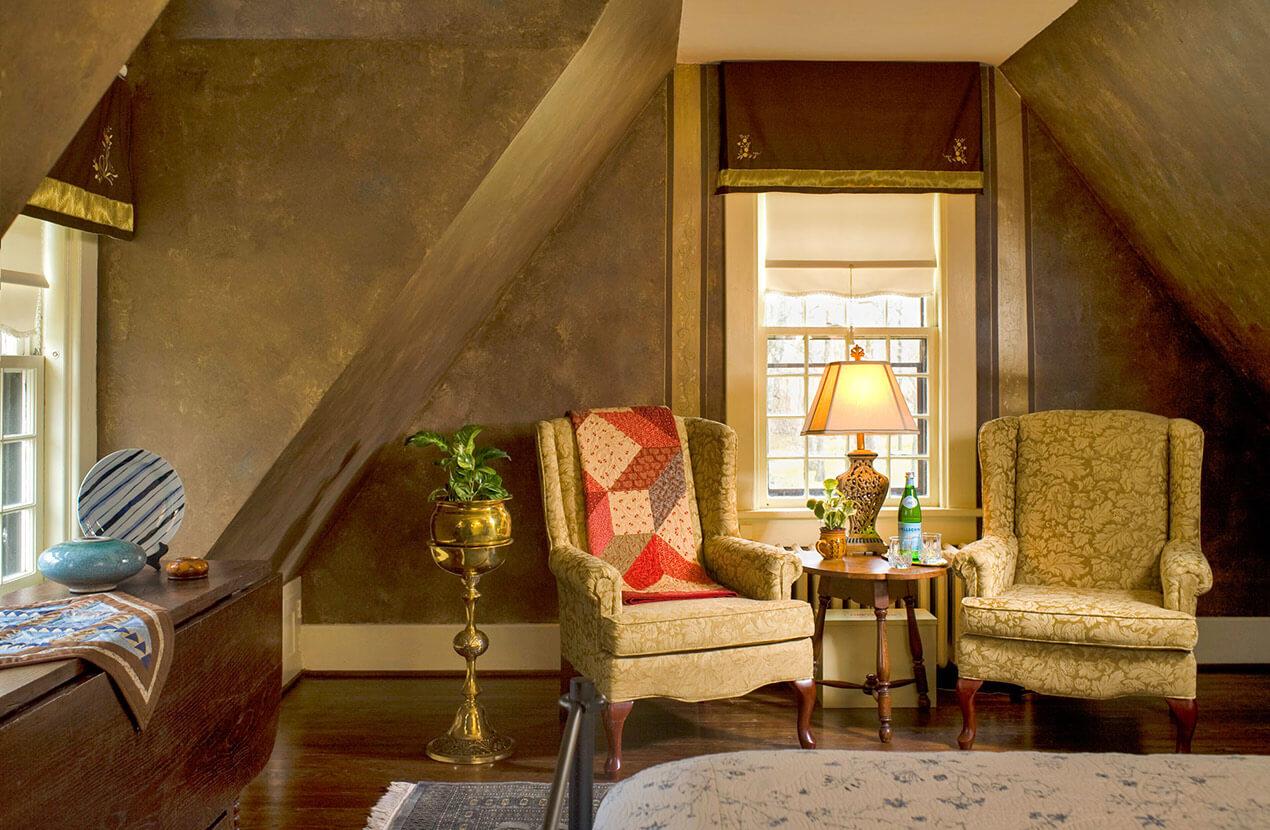 Romantic room at West Virginia Spa Resort