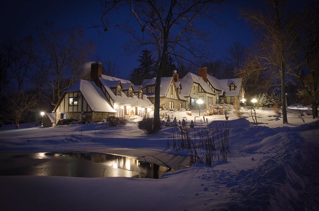 Winter at Hillbrook Inn
