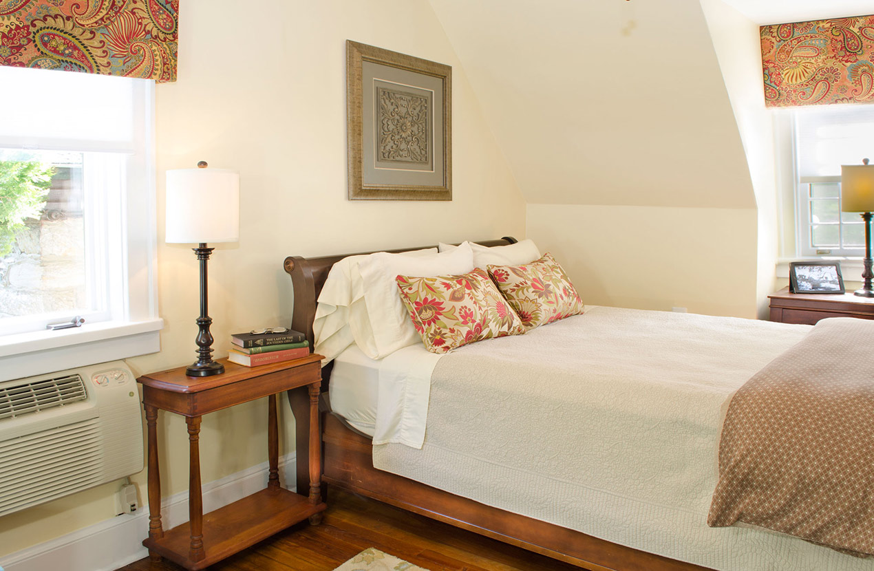 A snug room at West Virginia B&B