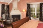 Fireplace in the Spring Cottage at our Inn Near Harpers Ferry