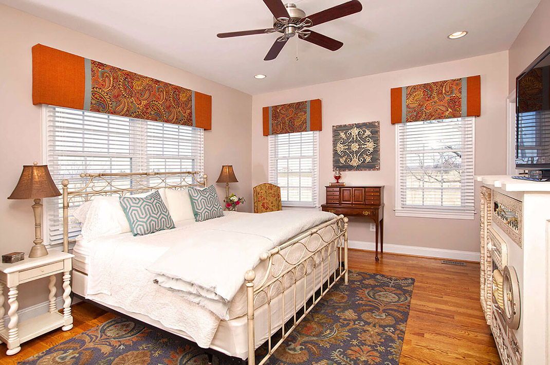 Guest suite at West Virginia inn