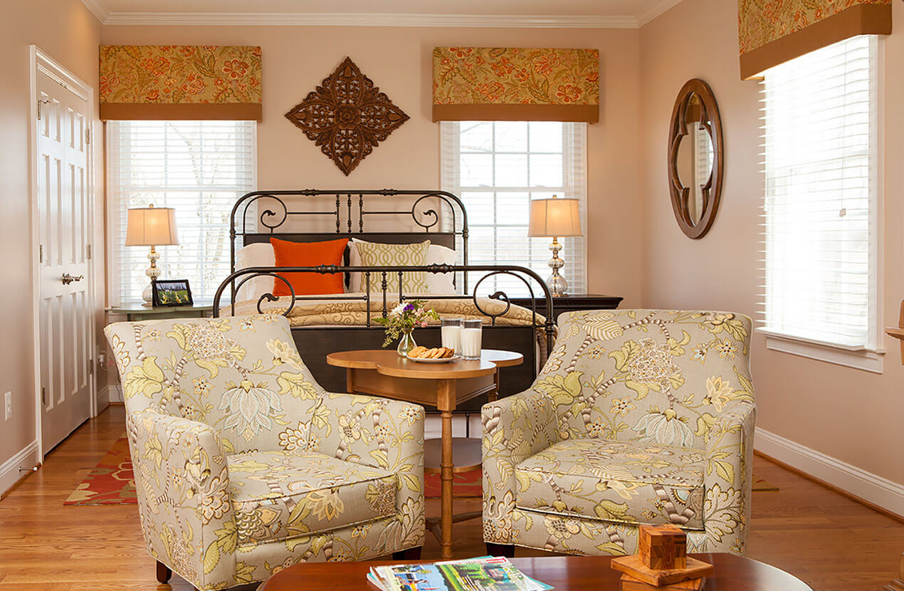 Getaway near Washington DC with two beds