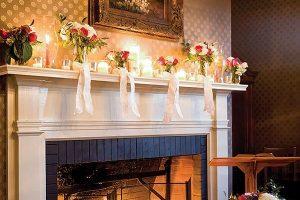 Intimate Fireside Wedding