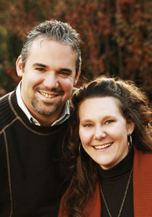 Chris and Carissa Zanella owners of Hillbrook Inn