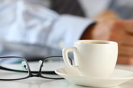 Coffee & glasses
