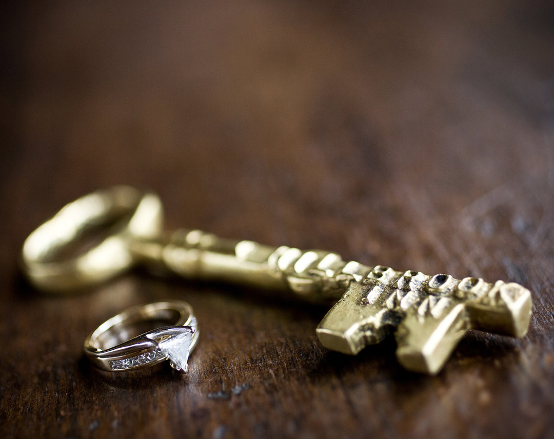 Ring and key