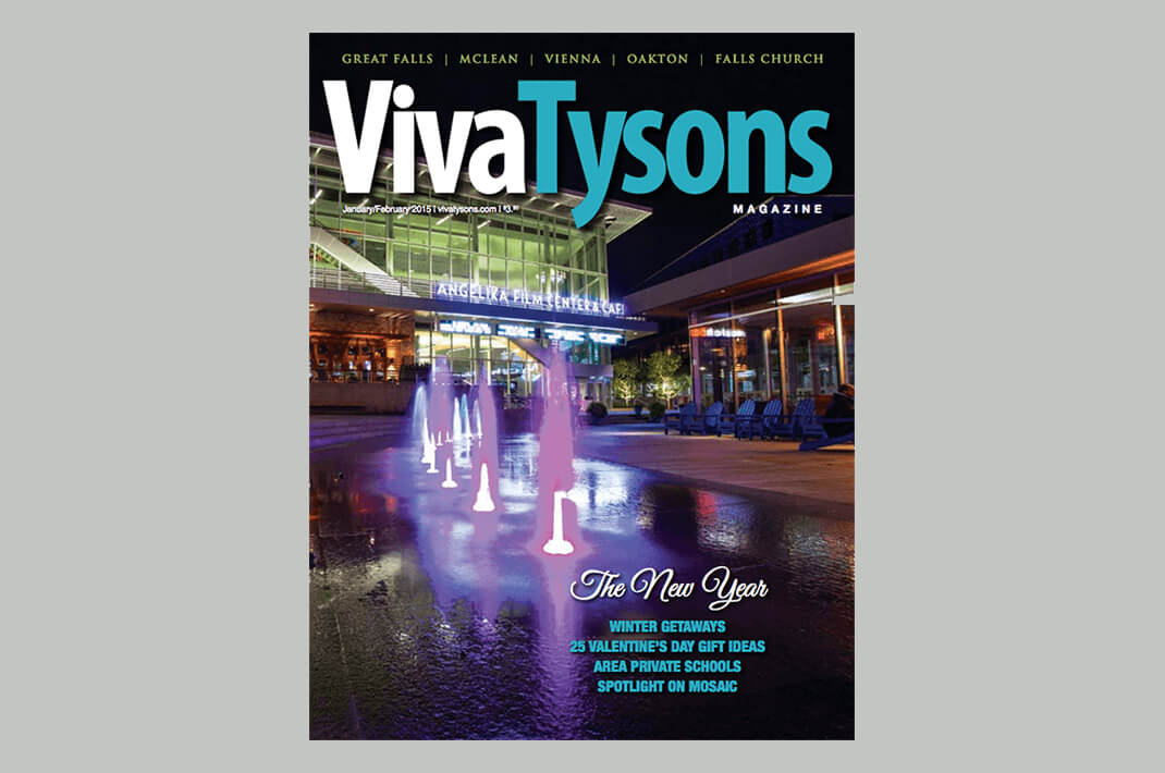 Viva Tysons Magazine cover