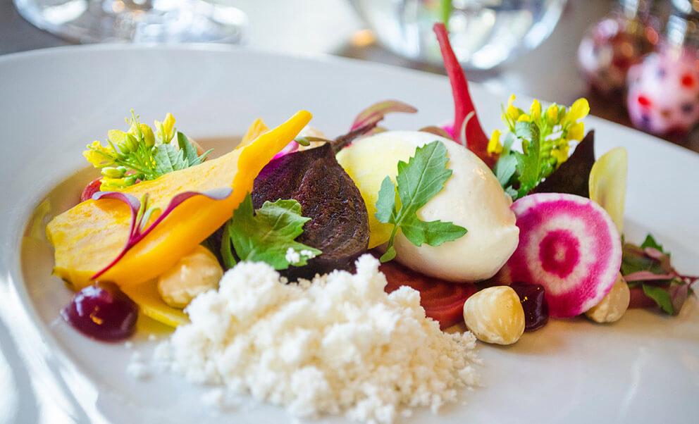 Beet salad Redbook Restaurant