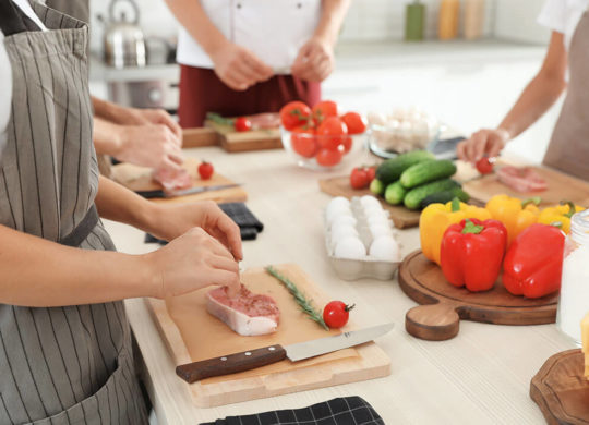 Taste of Hillbrook Package Cooking Class