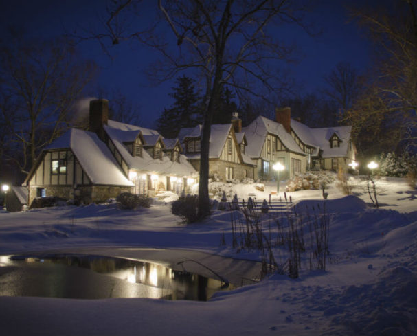 West Virginia Bed and Breakfast - Front Ponds in Winter