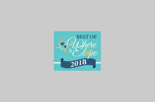 Best of Where to Elope 2018 logo