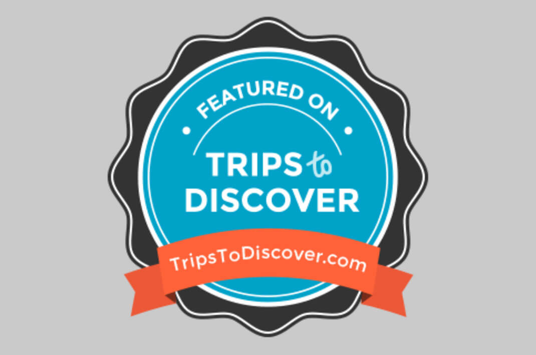 Featured on Trips to Discover badge