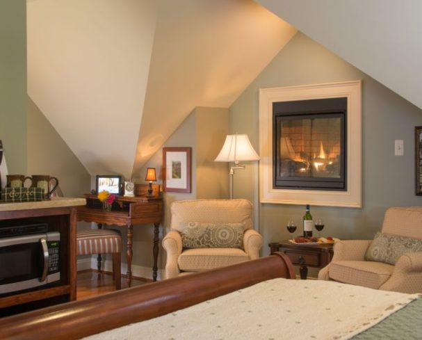 Harpers Ferry bed and breakfast Serenity Suite