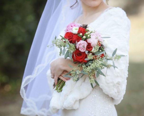 West Virginia Bridal Bouquet