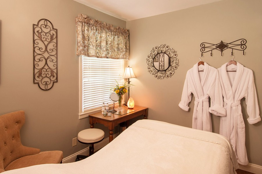 Peaceful Spa Room at Gatehouse Spa in WV